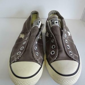 Converse One Star Ox Canvas Laceless Sneaker Shoe